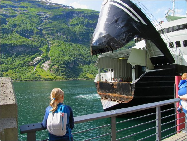 prom na Geiranger fiord